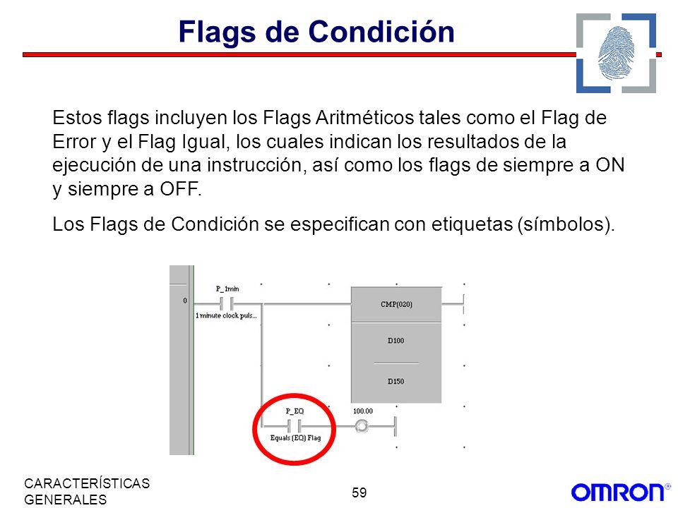 Flags de Condición