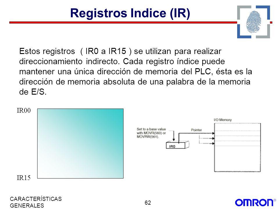 Registros Indice (IR)