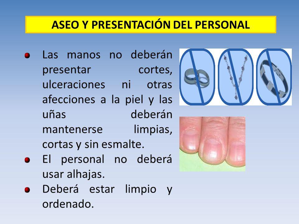 ASEO Y PRESENTACIÓN DEL PERSONAL