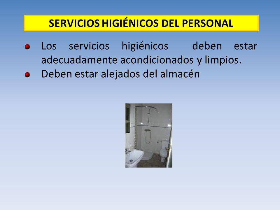 SERVICIOS HIGIÉNICOS DEL PERSONAL