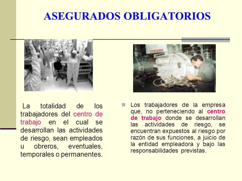 ASEGURADOS OBLIGATORIOS