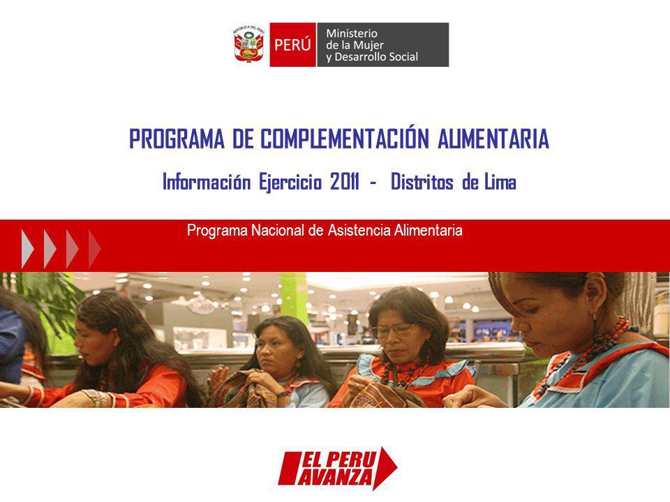 Programa Nacional de Asistencia Alimentaria