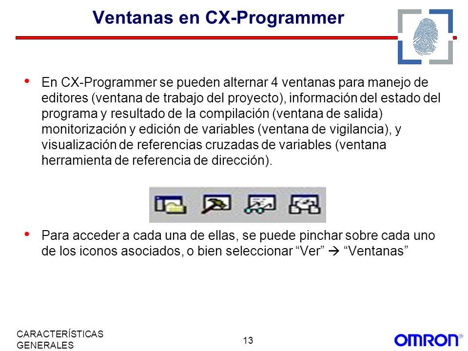 Ventanas en CX-Programmer
