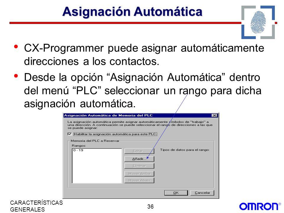 Asignación Automática