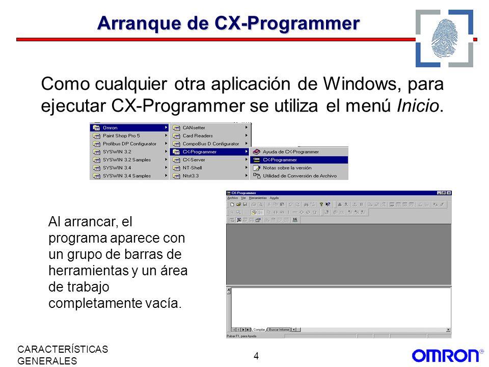 Arranque de CX-Programmer