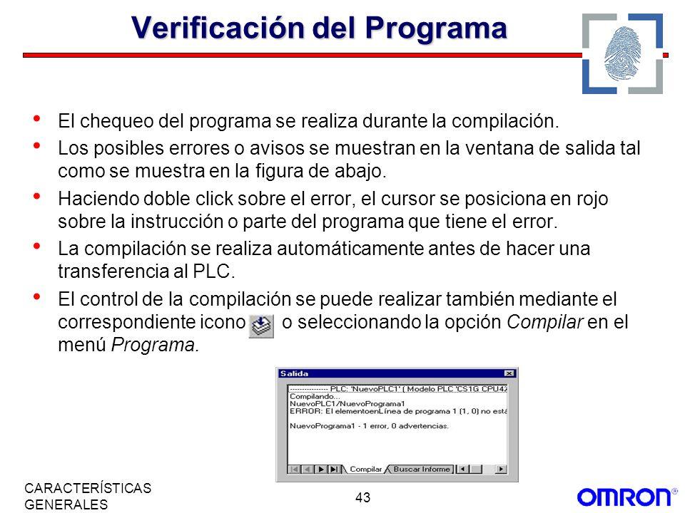 Verificación del Programa