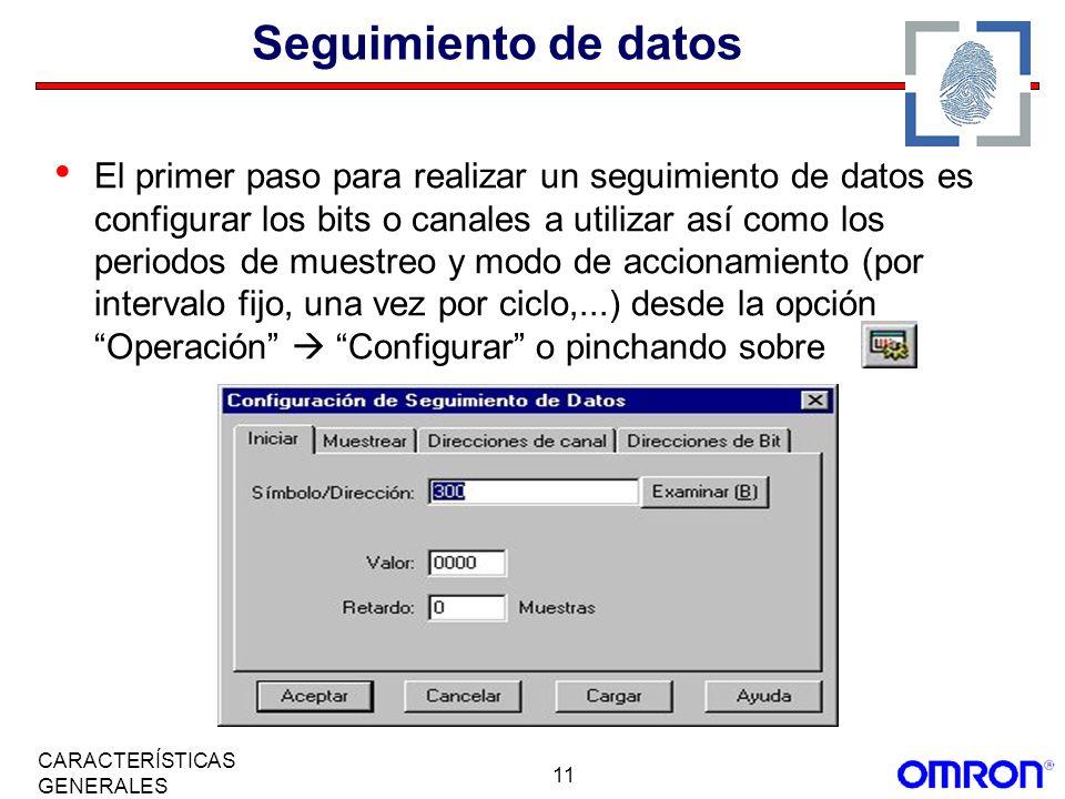 Seguimiento de datos