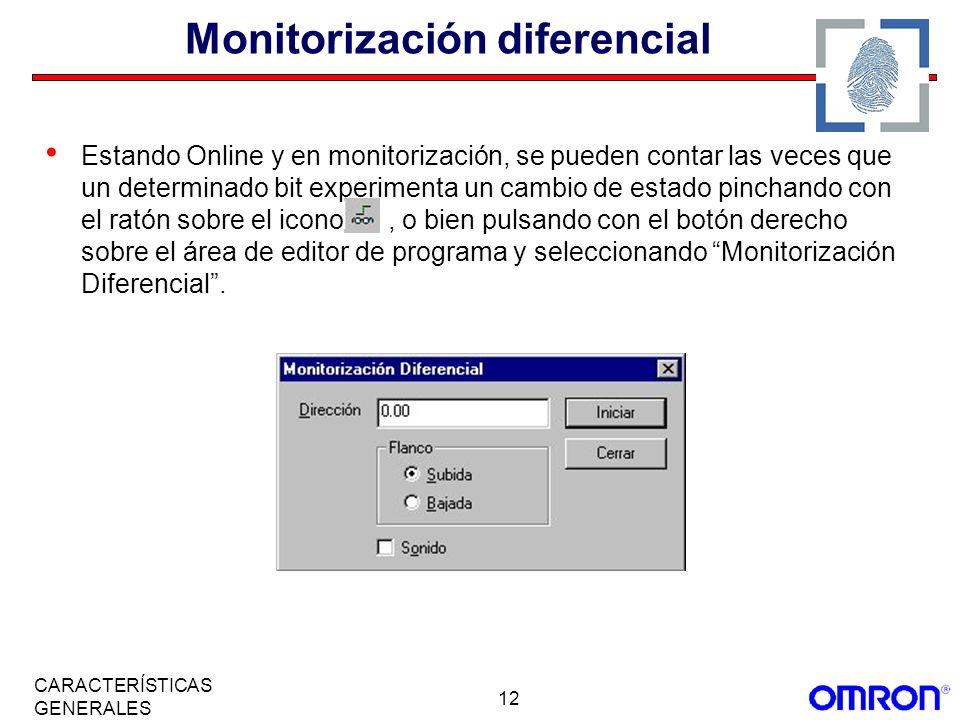 Monitorización diferencial