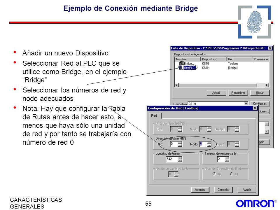 Ejemplo de Conexión mediante Bridge