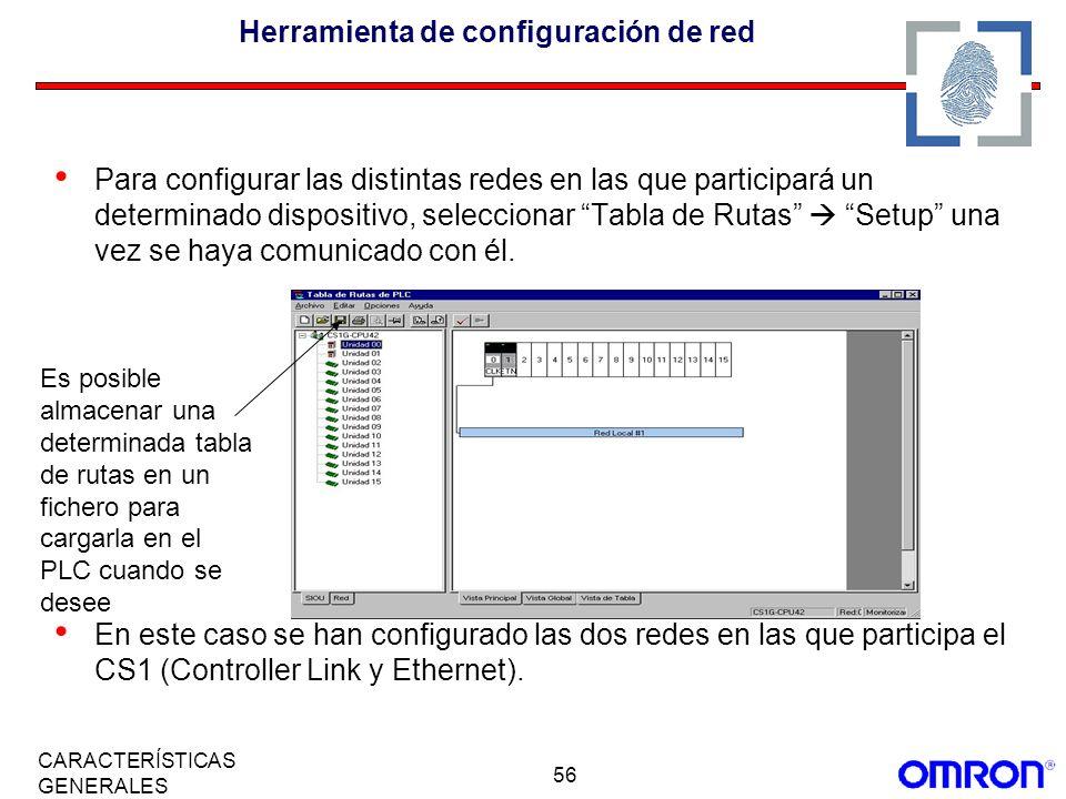 Herramienta de configuración de red