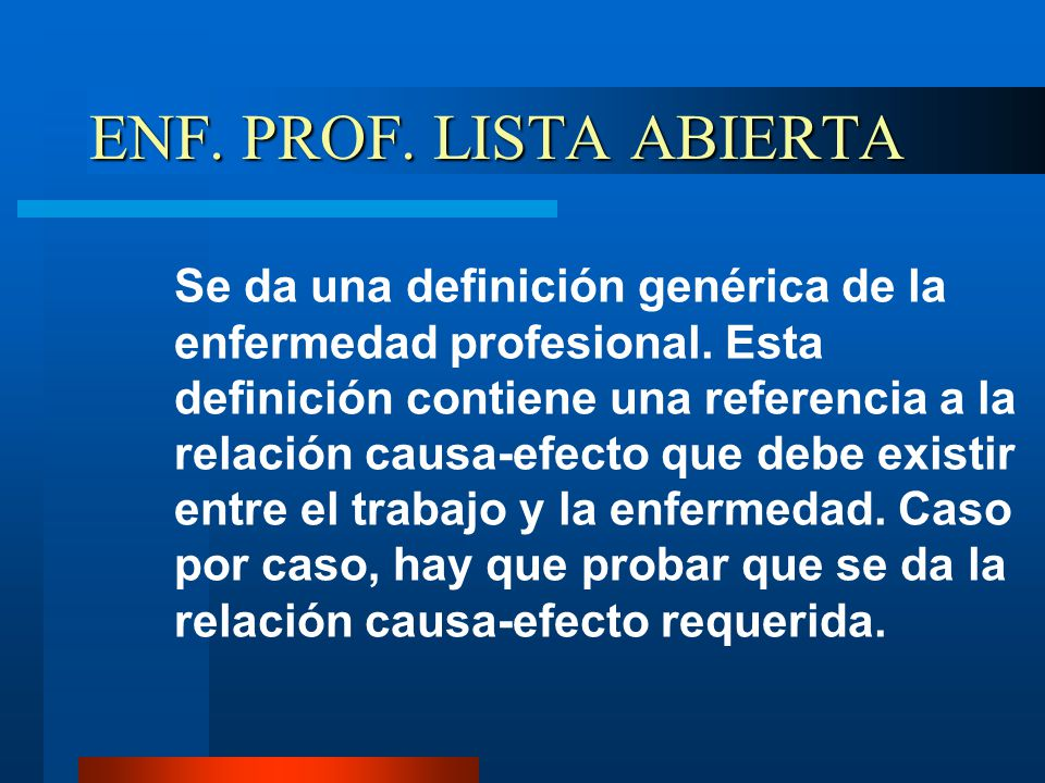 ENF. PROF. LISTA ABIERTA