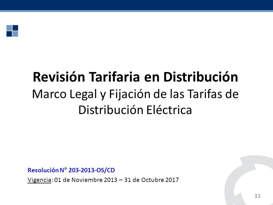 Revisión Tarifaria en Distribución