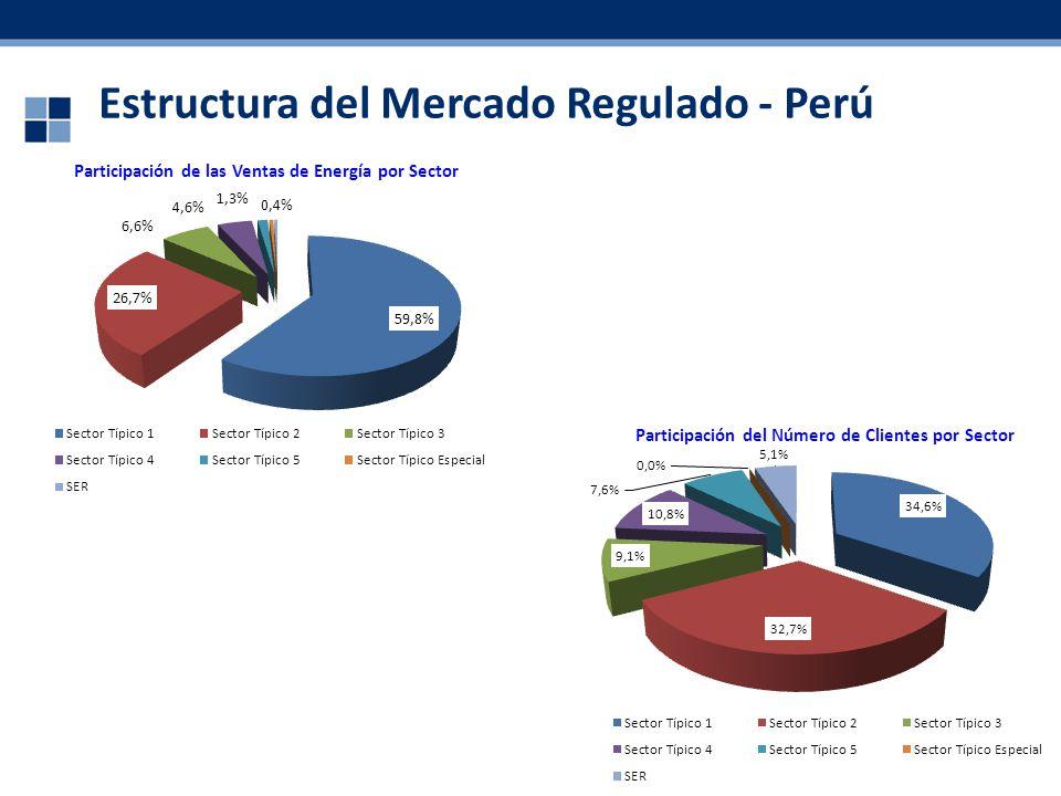 Estructura del Mercado Regulado - Perú