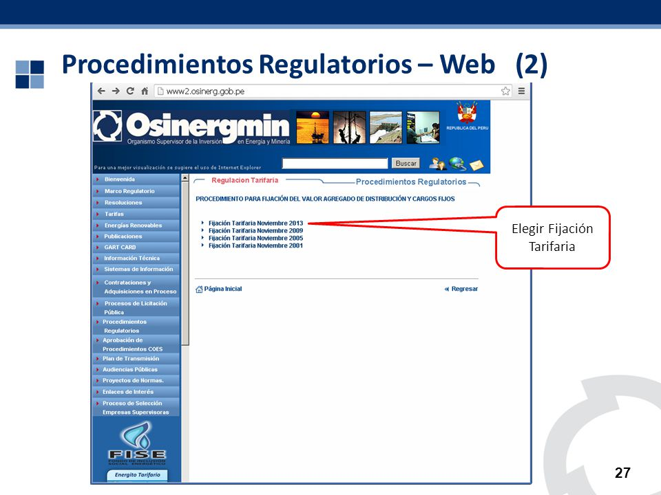 Procedimientos Regulatorios – Web (2)
