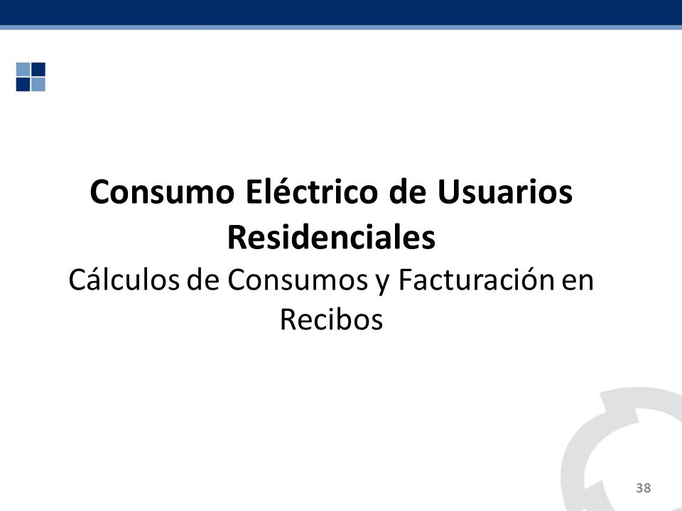 Consumo Eléctrico de Usuarios Residenciales