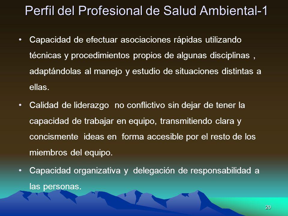 Perfil del Profesional de Salud Ambiental-1