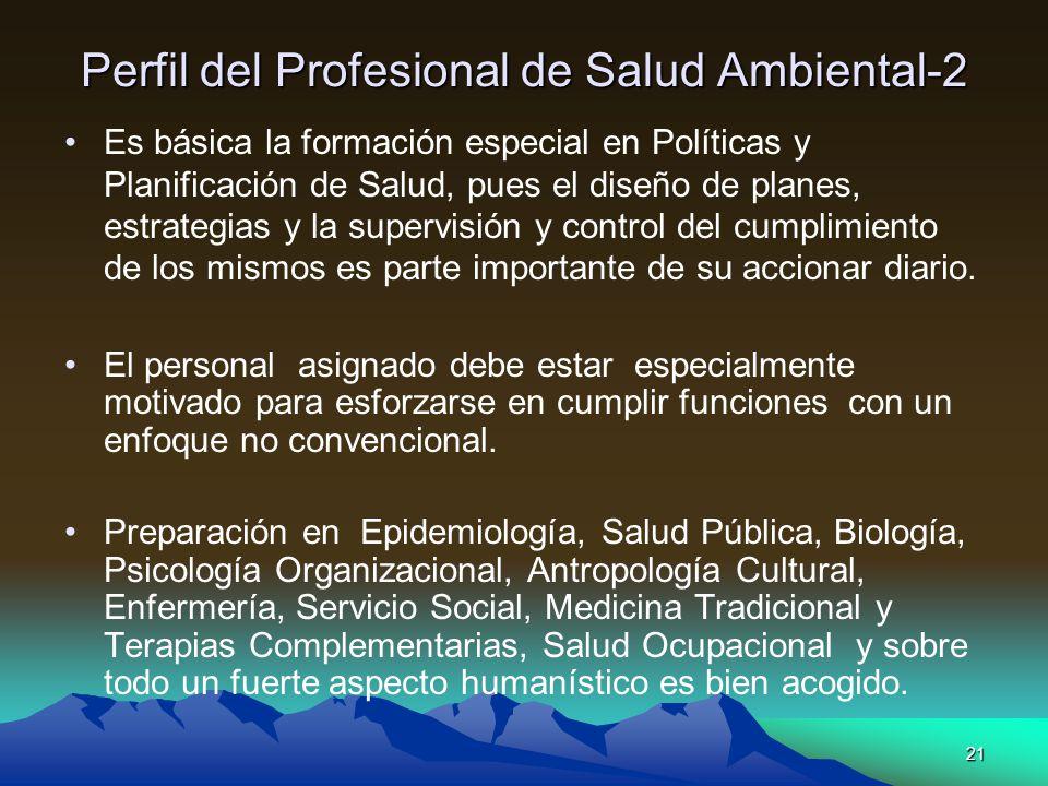 Perfil del Profesional de Salud Ambiental-2