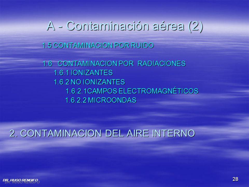 A - Contaminación aérea (2)