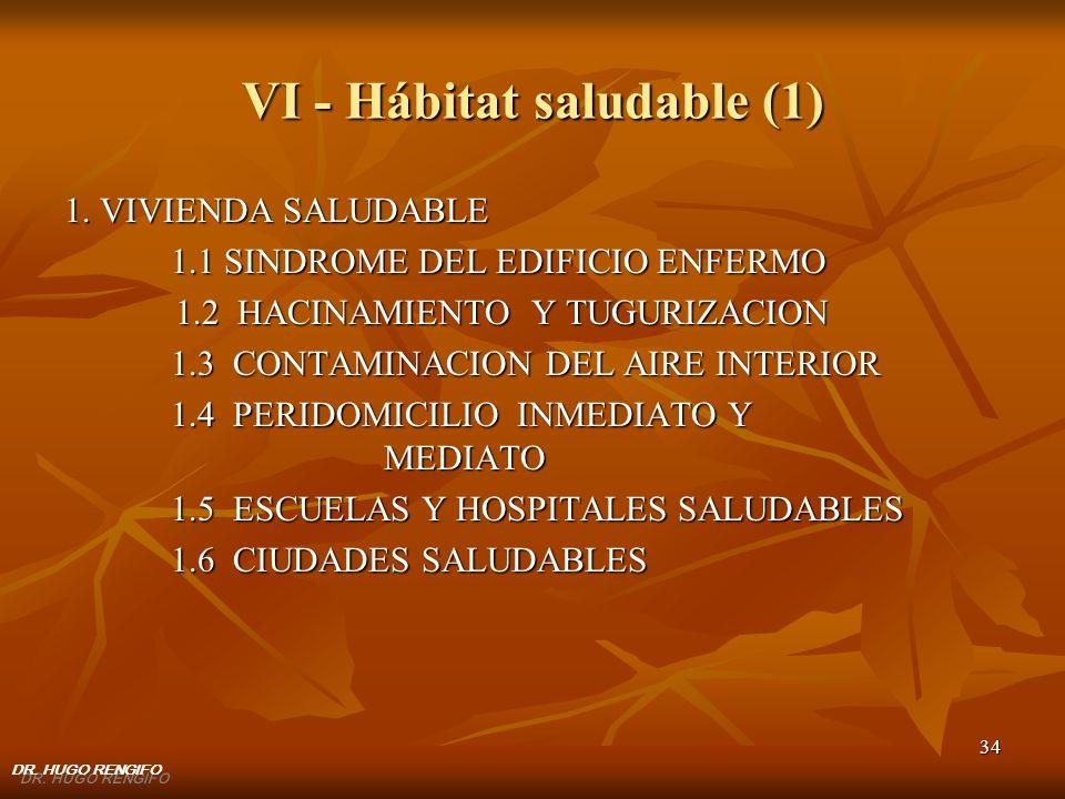 VI - Hábitat saludable (1)