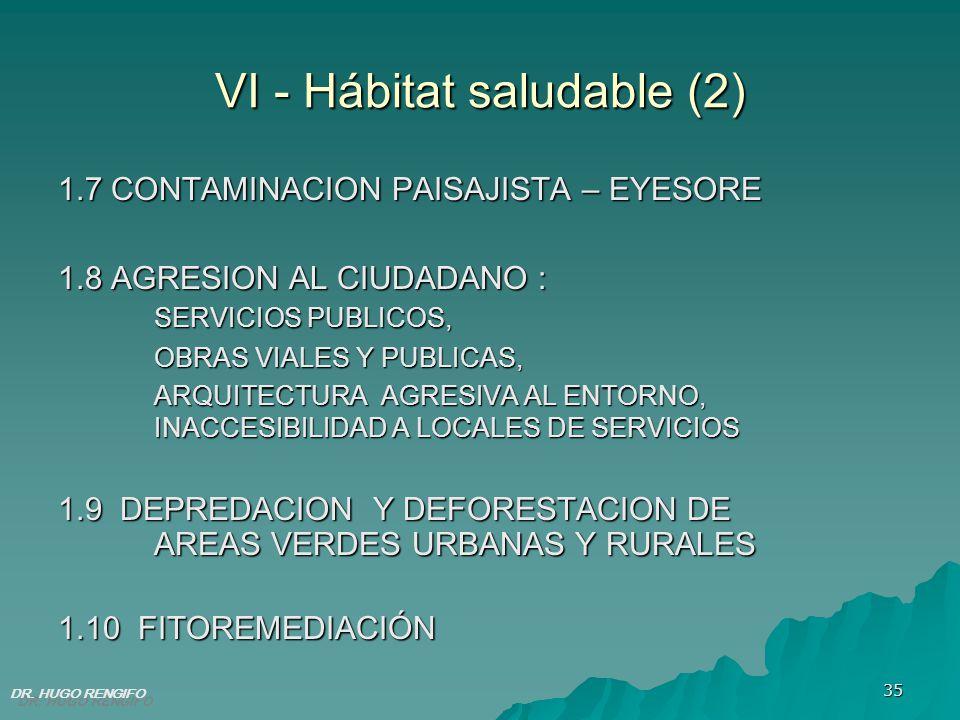 VI - Hábitat saludable (2)