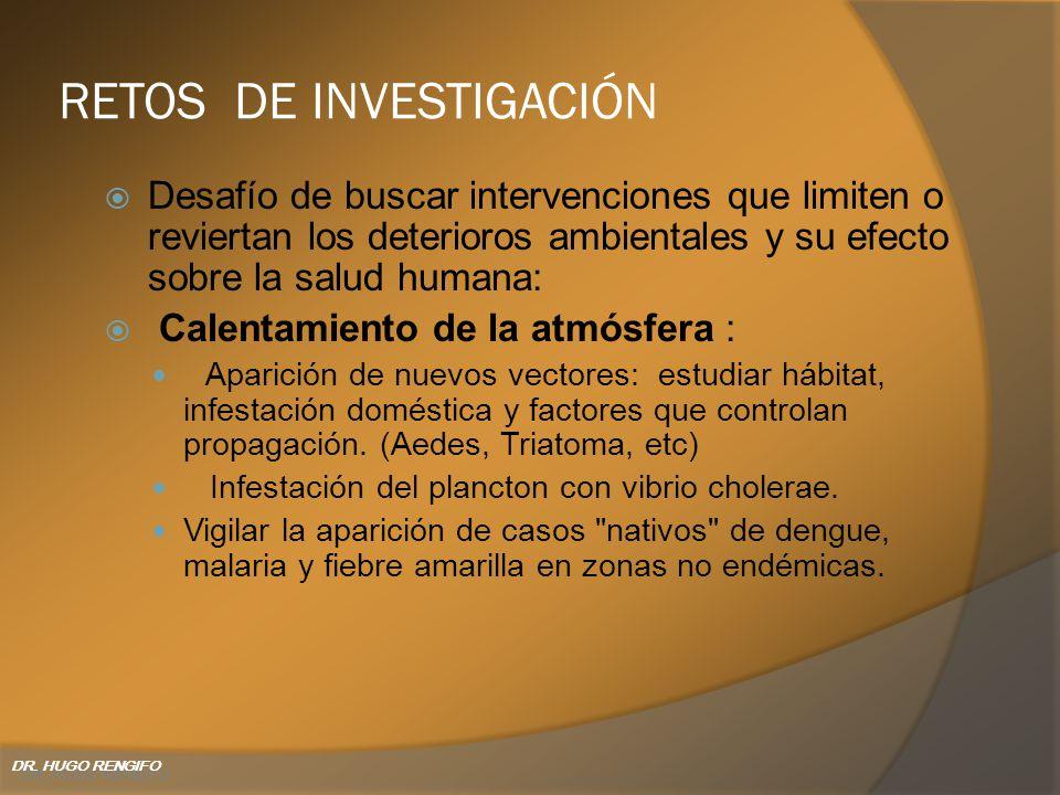 RETOS DE INVESTIGACIÓN