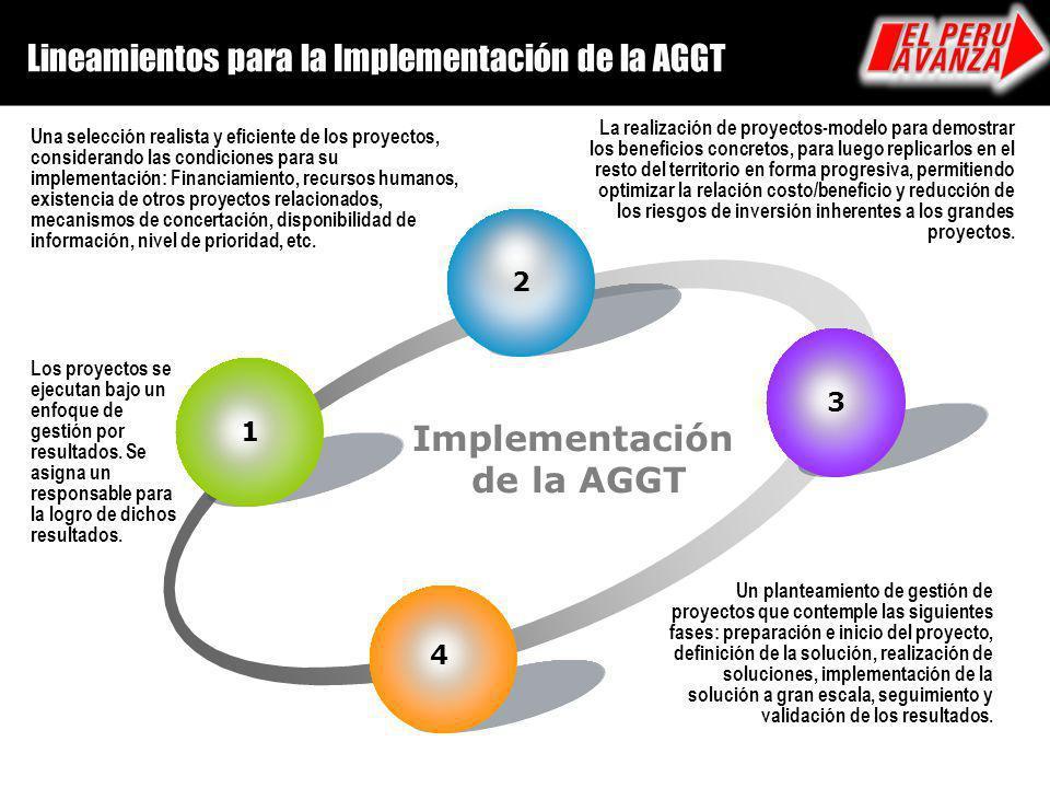 Implementación de la AGGT