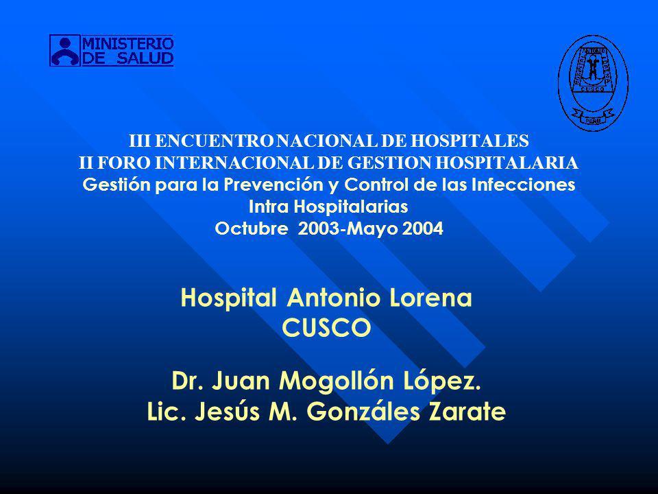 Hospital Antonio Lorena Lic. Jesús M. Gonzáles Zarate