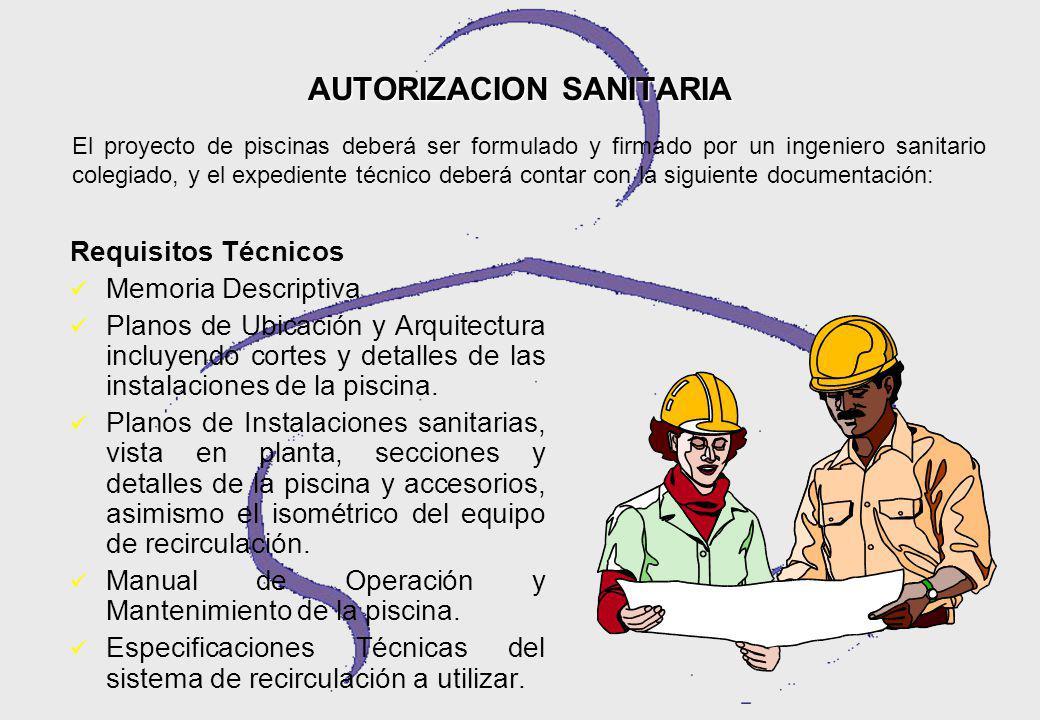 AUTORIZACION SANITARIA