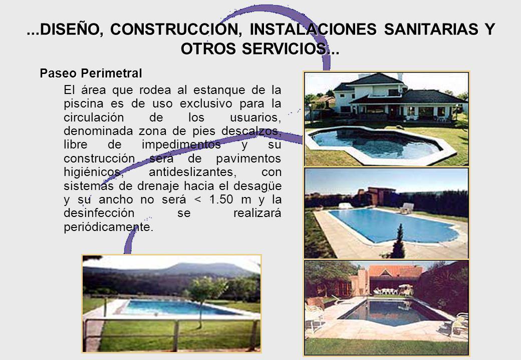 ...DISEÑO, CONSTRUCCION, INSTALACIONES SANITARIAS Y OTROS SERVICIOS...