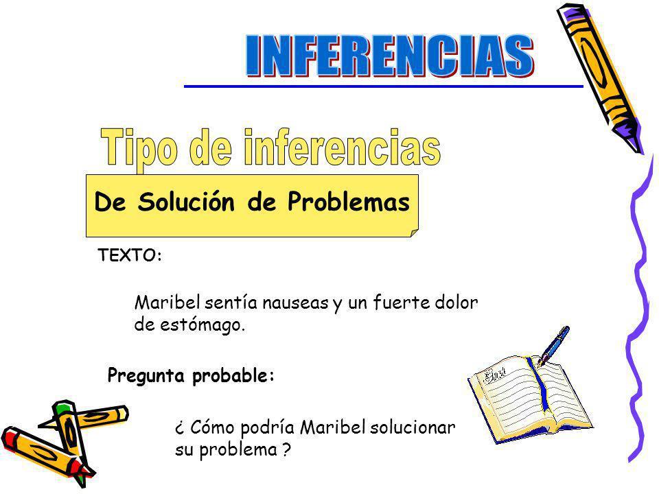 De Solución de Problemas