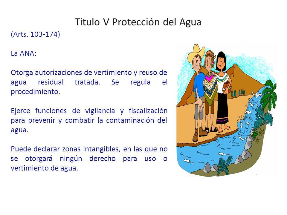 Titulo V Protección del Agua