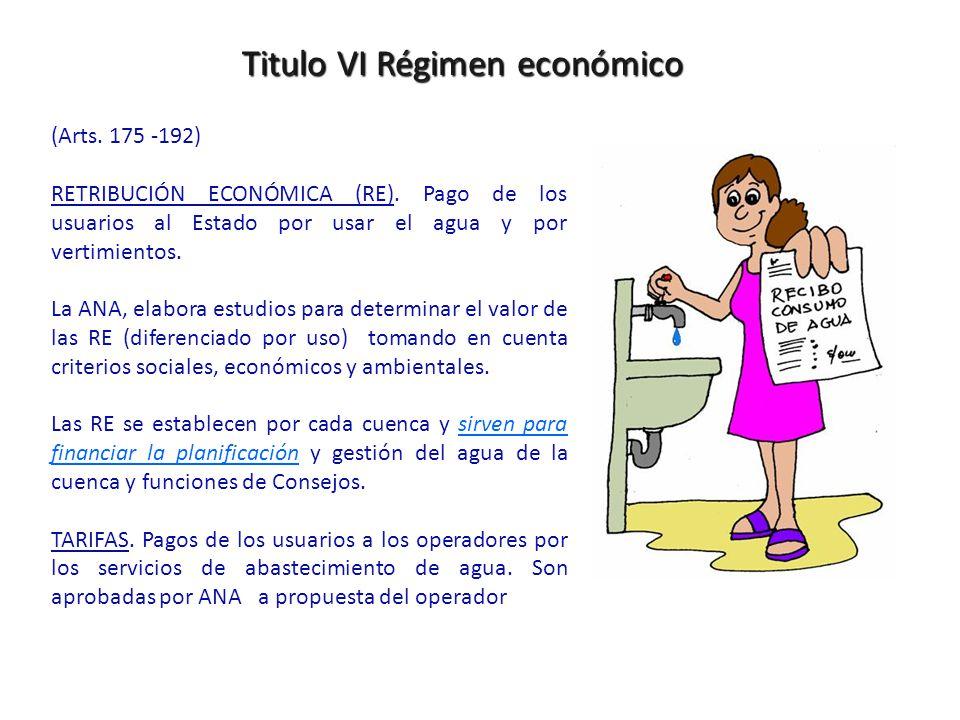 Titulo VI Régimen económico