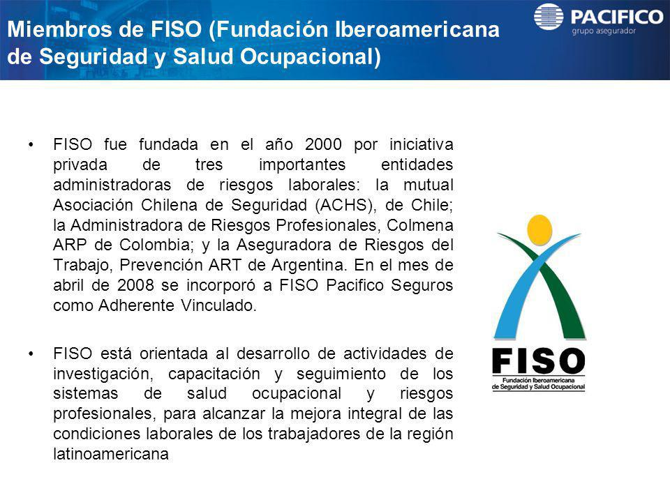 Miembros de FISO (Fundación Iberoamericana de Seguridad y Salud Ocupacional)