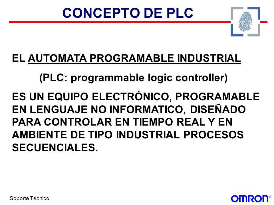 CONCEPTO DE PLC EL AUTOMATA PROGRAMABLE INDUSTRIAL