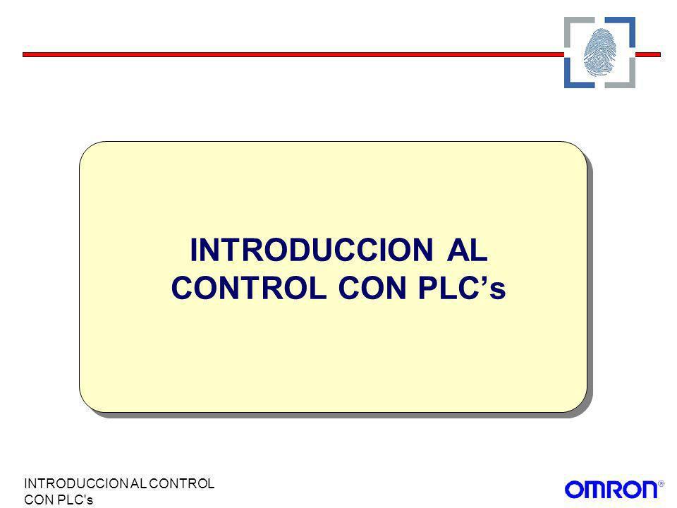 INTRODUCCION AL CONTROL CON PLC's