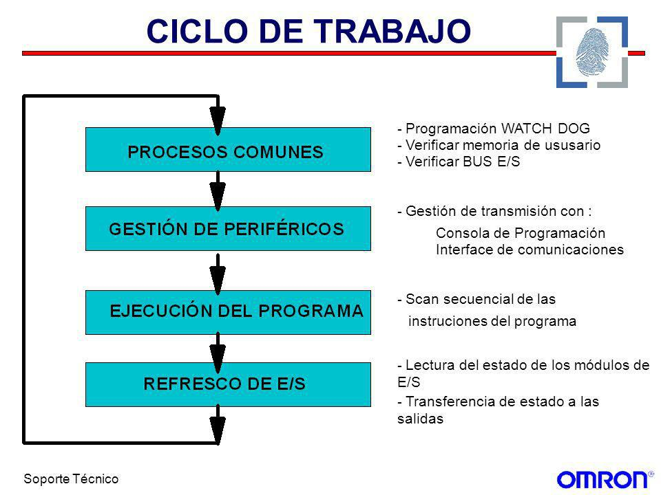 CICLO DE TRABAJO - Programación WATCH DOG