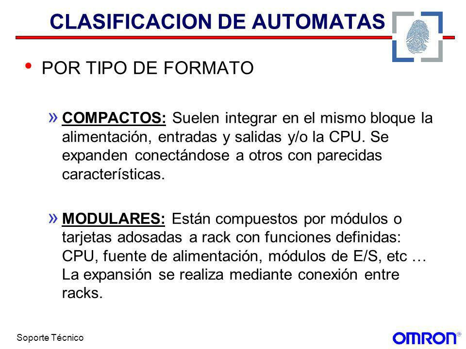 CLASIFICACION DE AUTOMATAS