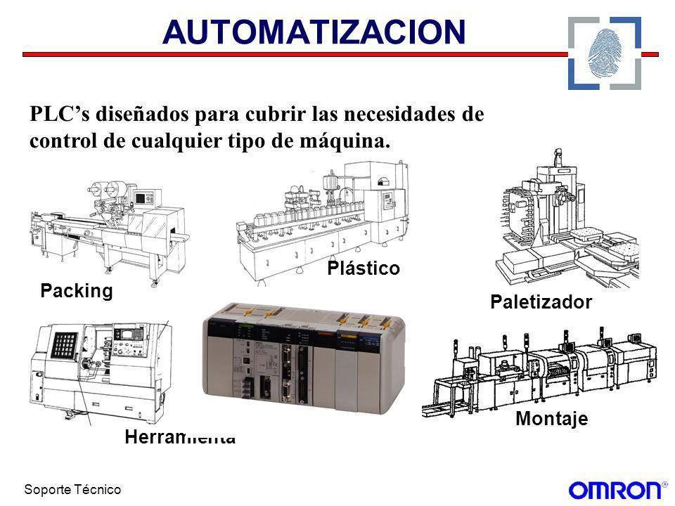 AUTOMATIZACION PLC's diseñados para cubrir las necesidades de control de cualquier tipo de máquina.
