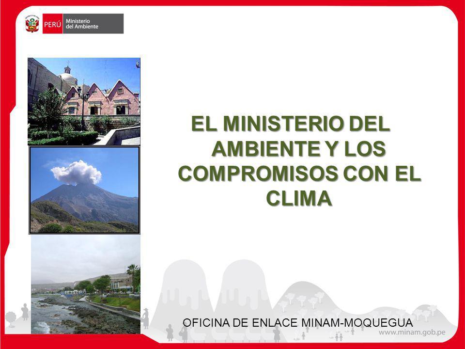 EL MINISTERIO DEL AMBIENTE Y LOS COMPROMISOS CON EL CLIMA