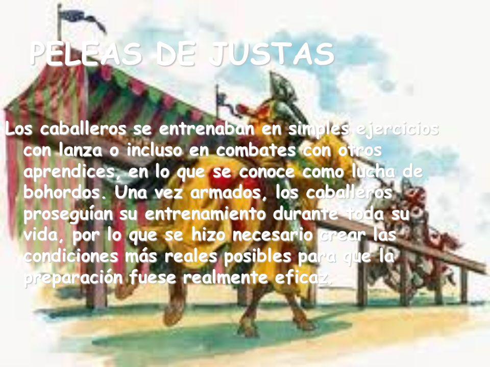 PELEAS DE JUSTAS
