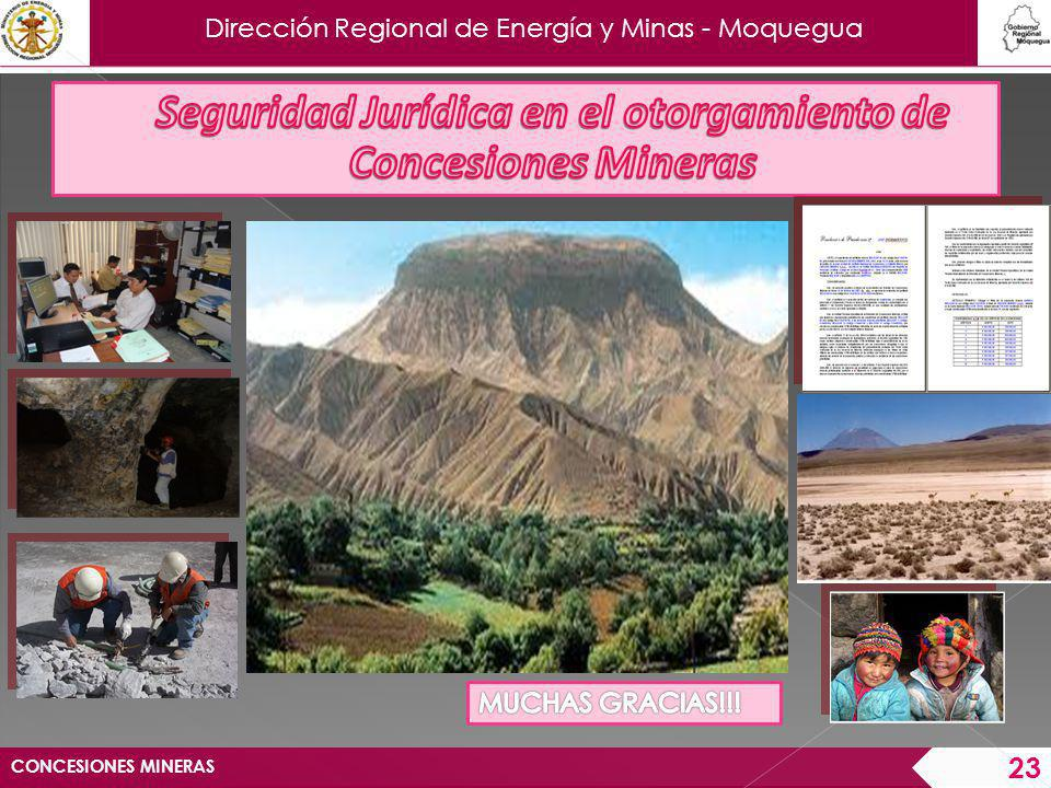 Seguridad Jurídica en el otorgamiento de Concesiones Mineras