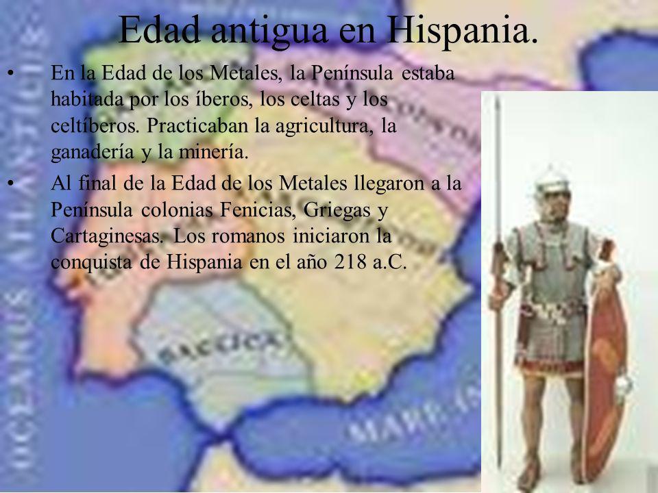 Edad antigua en Hispania.