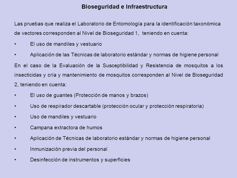 Bioseguridad e Infraestructura