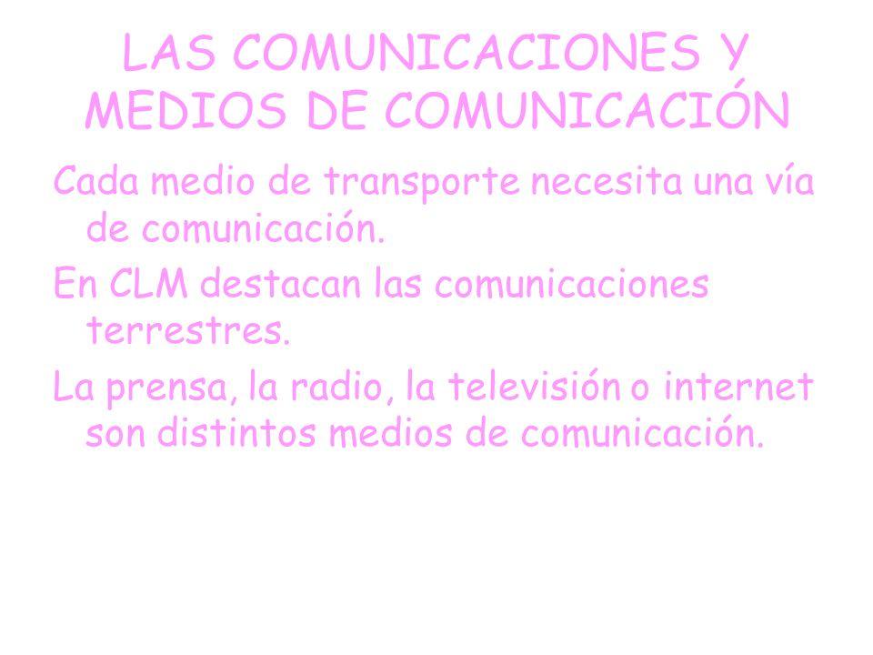LAS COMUNICACIONES Y MEDIOS DE COMUNICACIÓN