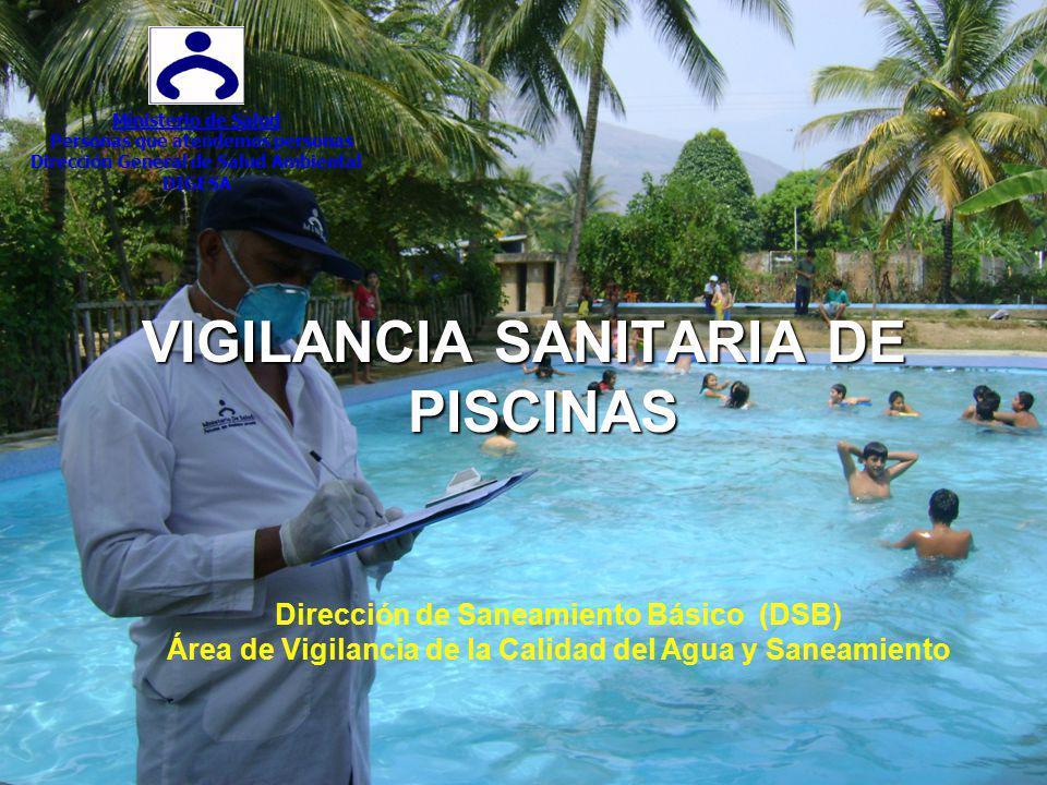 VIGILANCIA SANITARIA DE PISCINAS