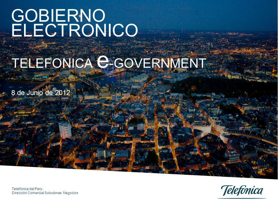 01 02 03 Índice e-Government en el Perú e-Government