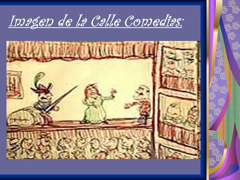Imagen de la Calle Comedias: