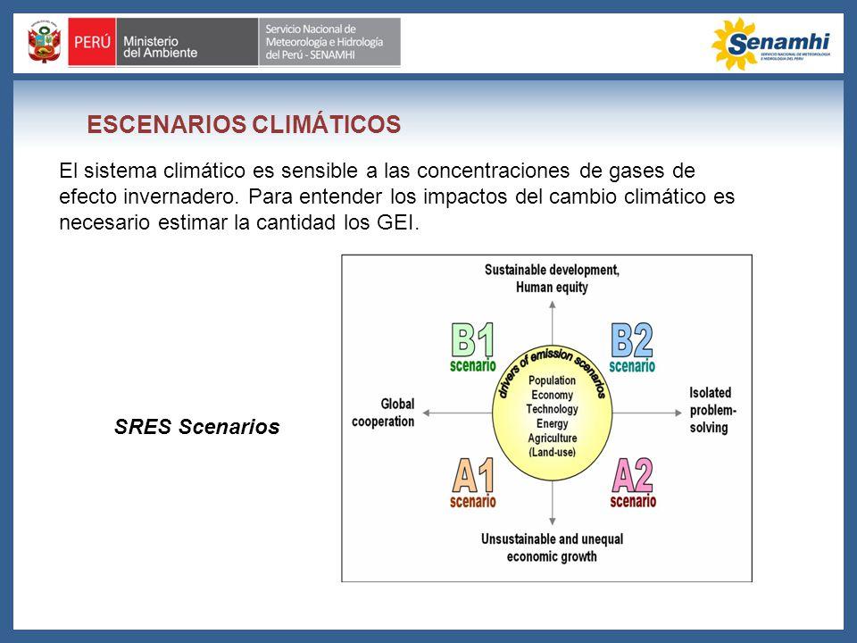 ESCENARIOS CLIMÁTICOS