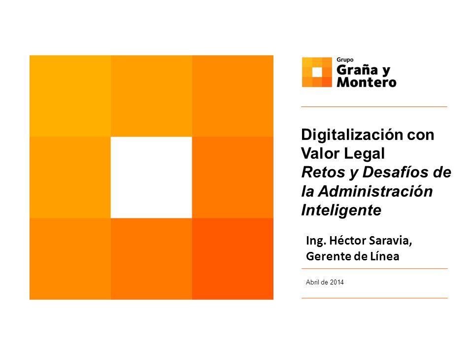 Digitalización con Valor Legal