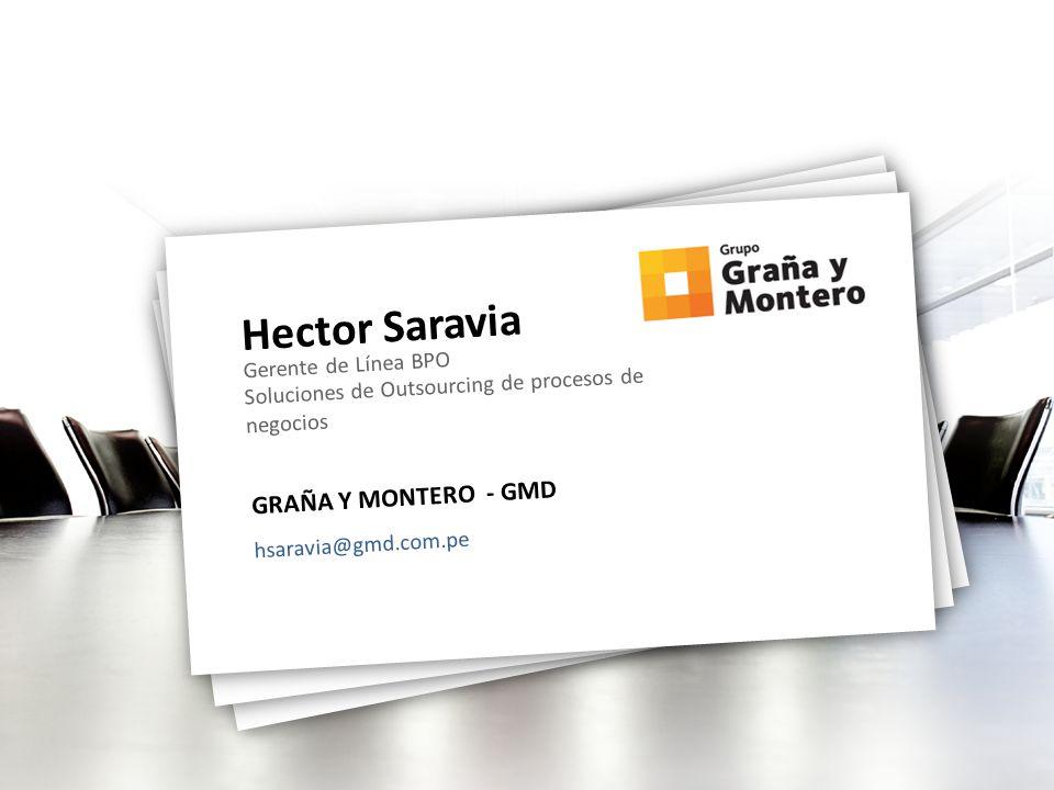Hector Saravia GRAÑA Y MONTERO - GMD Gerente de Línea BPO